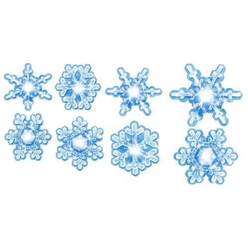 Our Frozen Wonderland Snowflake Cutouts Have The Look Of Glittery White Snowflakes These Cardboard Are Printed On One Side