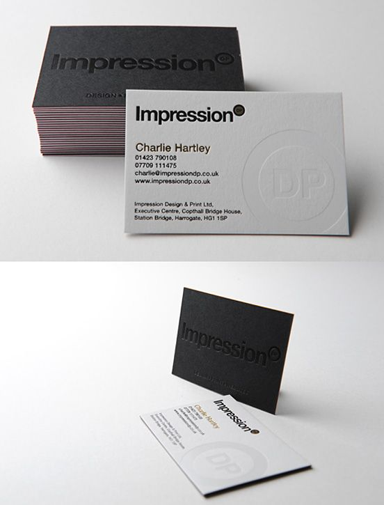 Impression iright manifesto pinterest business cards business 50 fresh business card collection design reheart Image collections