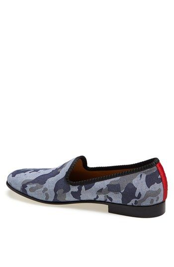 camo loafers