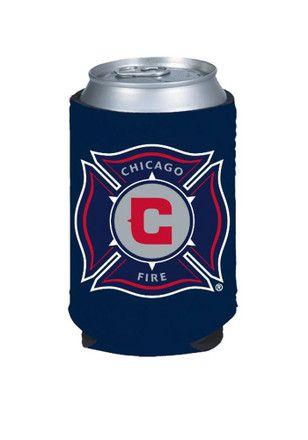 buy online 4fe93 6ef8f Chicago Fire Team Logo Koozie | MLS - Chicago Fire | Soccer ...