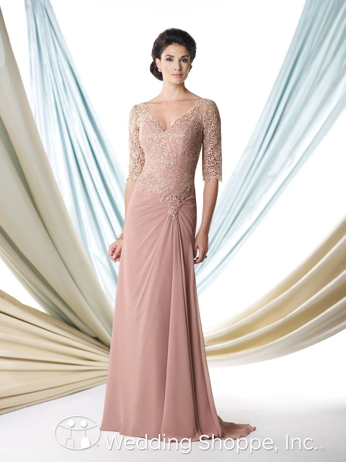 Montage Mother Of The Bride Dresses 113906 Dusty Rose Gown Glamorous
