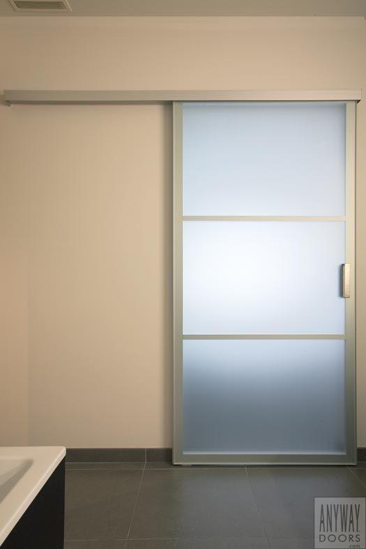 Porte Coulissante Vitrée Intérieure Au Salle Des Bains Doors