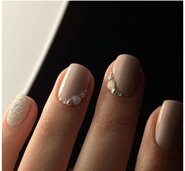 4 diseños de uñas para usar en la noche de boda | Decoración de Uñas ...