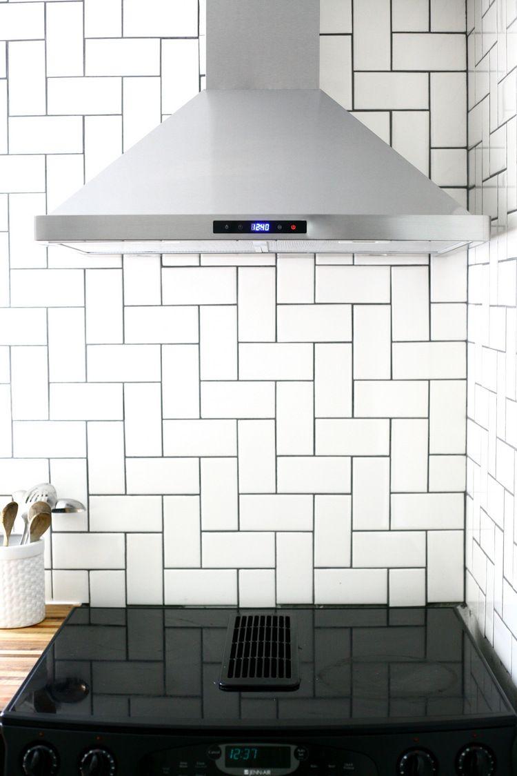 Straight Herringbone Tile Backsplash Tutorial Kitchen Wall Tiles Herringbone Tile Backsplash Cheap Kitchen Remodel