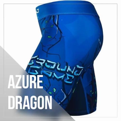 "Mixed Martial Arts Games: ""Azure Dragon"" Vale Tudo Shorts"