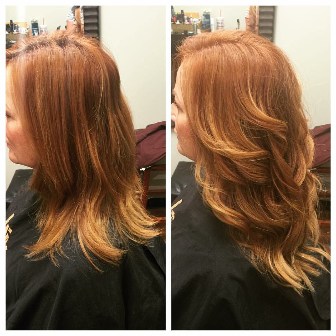 Connie Britton Inspiration Beautiful Copper Red Hair With Klix