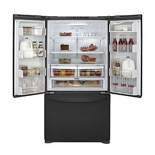 Sears Kenmore 25 0 Cu Ft French Door Bottom Freezer Refrigerator Kitchen Pantry Cabinets French Door Bottom Freezer French Door Bottom Freezer Refrigerator