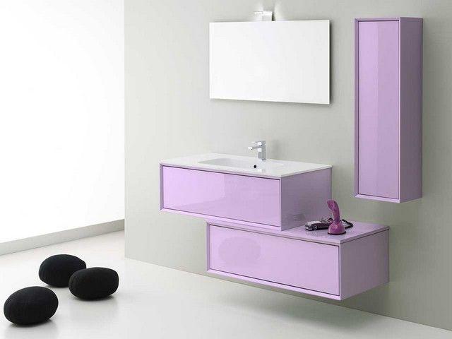 Mobile Bagno Lilla : Brera color colonna rev lilla mobili bagno
