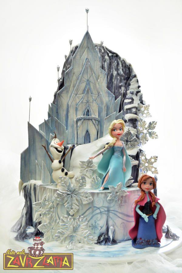 Frozen Cake Cake By Nasa Mala Zavrzlama Торт Зимние торты и