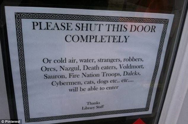 Are These The Funniest Library Signs Ever Library Humor Library Signs Librarian Humor