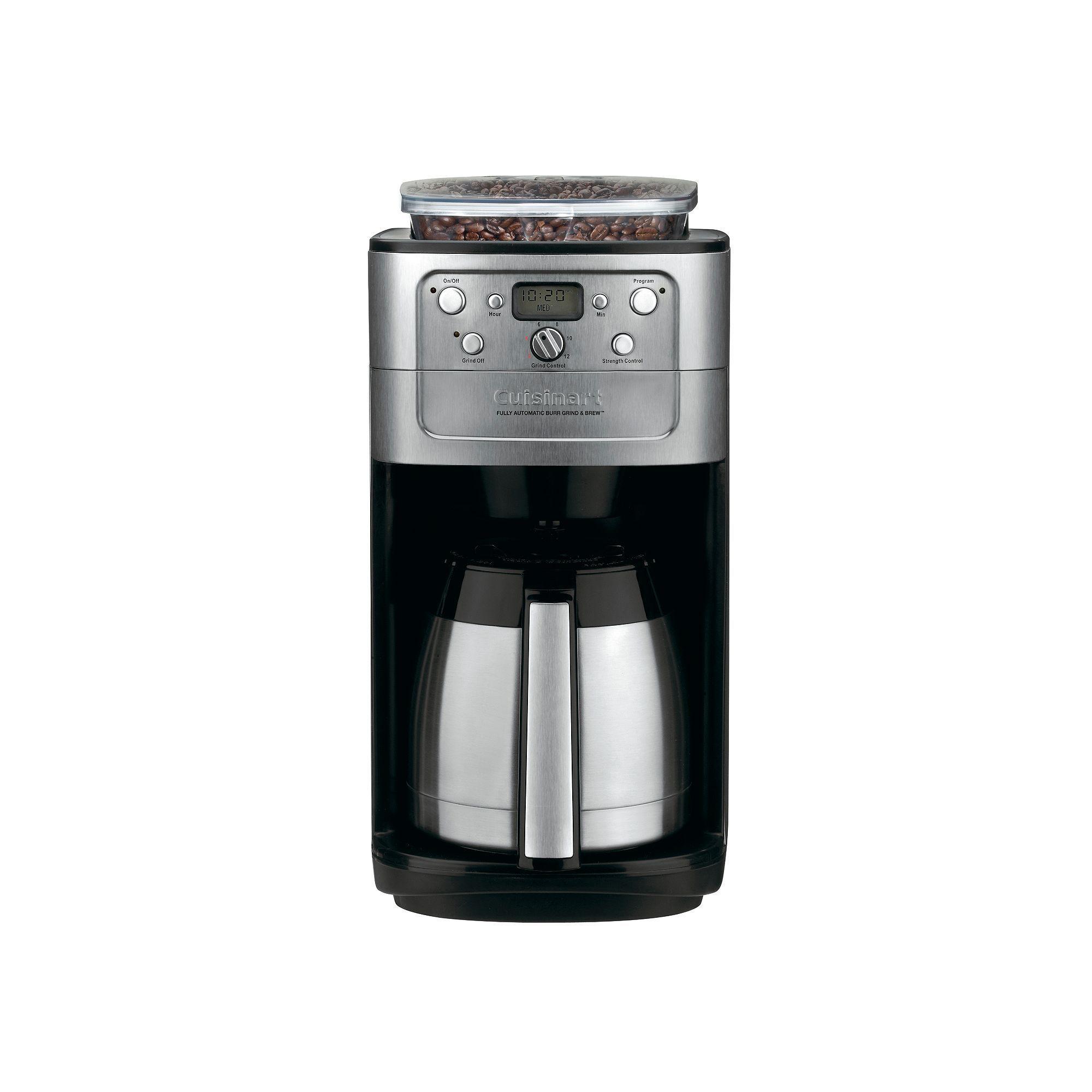 Cuisinart Grind N Brew 12 Cup Thermal Coffee Maker