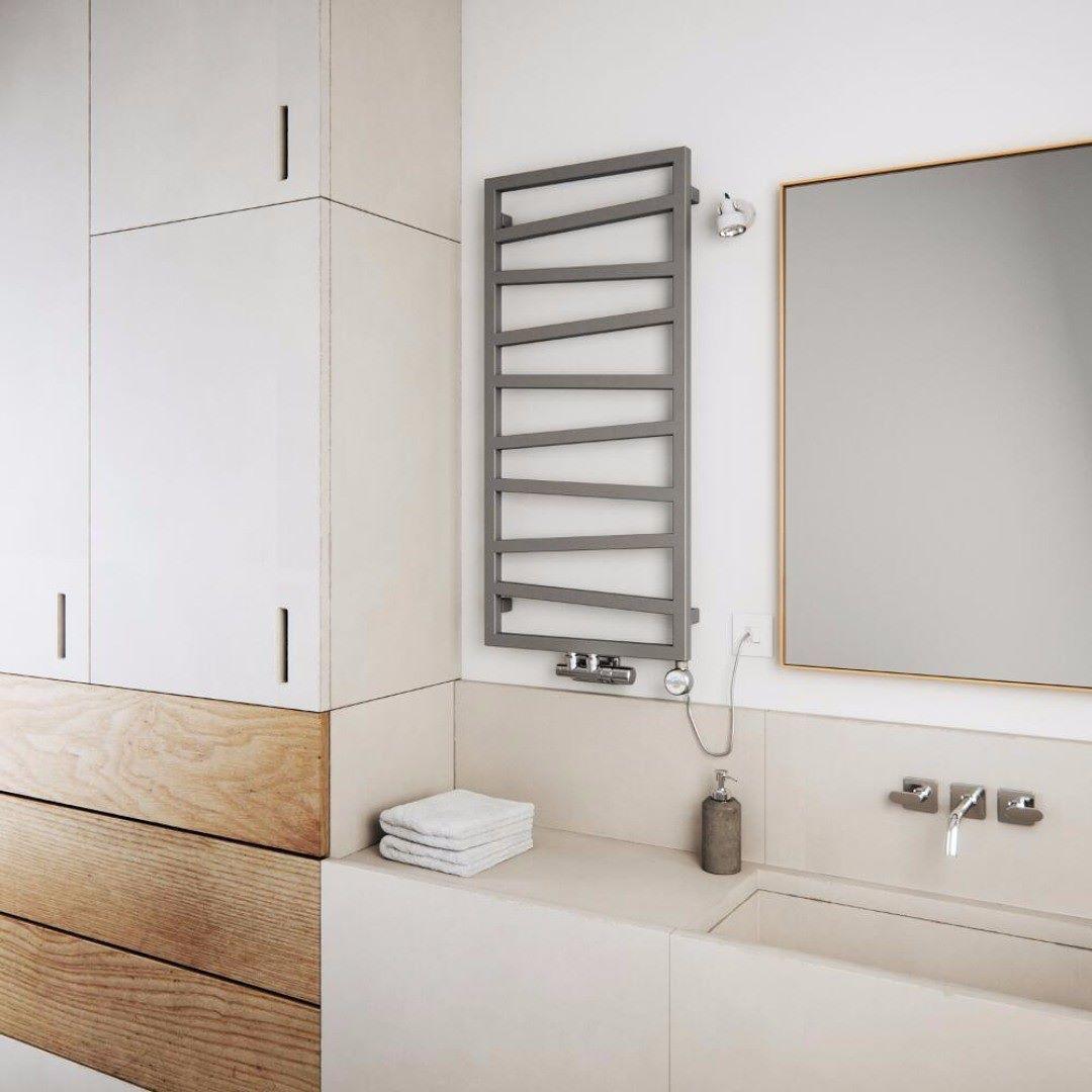 The Terma Zigzag Heated Towel Rail Will Add Designer Style To Any Bathroom Home Homedecor Decor Interiors Inte Heated Towel Rail Big Bathrooms Towel Rail