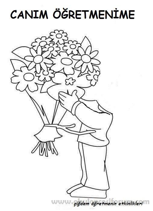 Hediyemiz Bir Buket çiçek Etkinlik Okul Anne Ve Anneler Günü