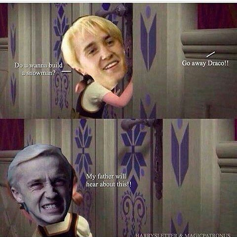 Dracomalfoy Harrypotter Gefroren Tur Vater Schneemann Game Of Thrones Games And Movies World Welcome In 2020 Harry Potter Puns Harry Potter Memes Hilarious Harry Potter Memes