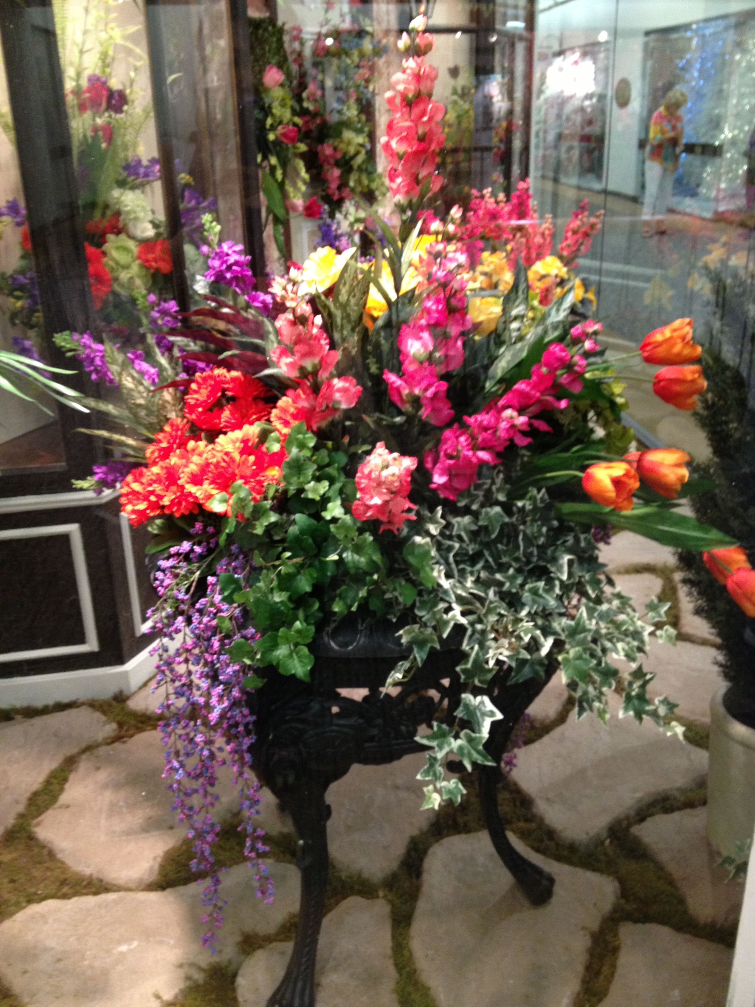 Colorful spring mixed outdoor arrangement floral arrangements colorful spring mixed outdoor arrangement mightylinksfo