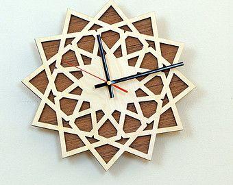 Clock On Etsy A Global Handmade And Vintage Marketplace Diy Clock Wall Handmade Wall Clocks Wall Clock Kits