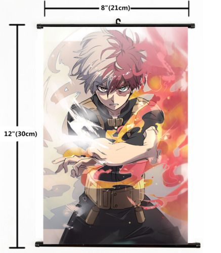 Hot Japan Anime Boku no Hero Academia Home Decor Poster Wall Scroll 8