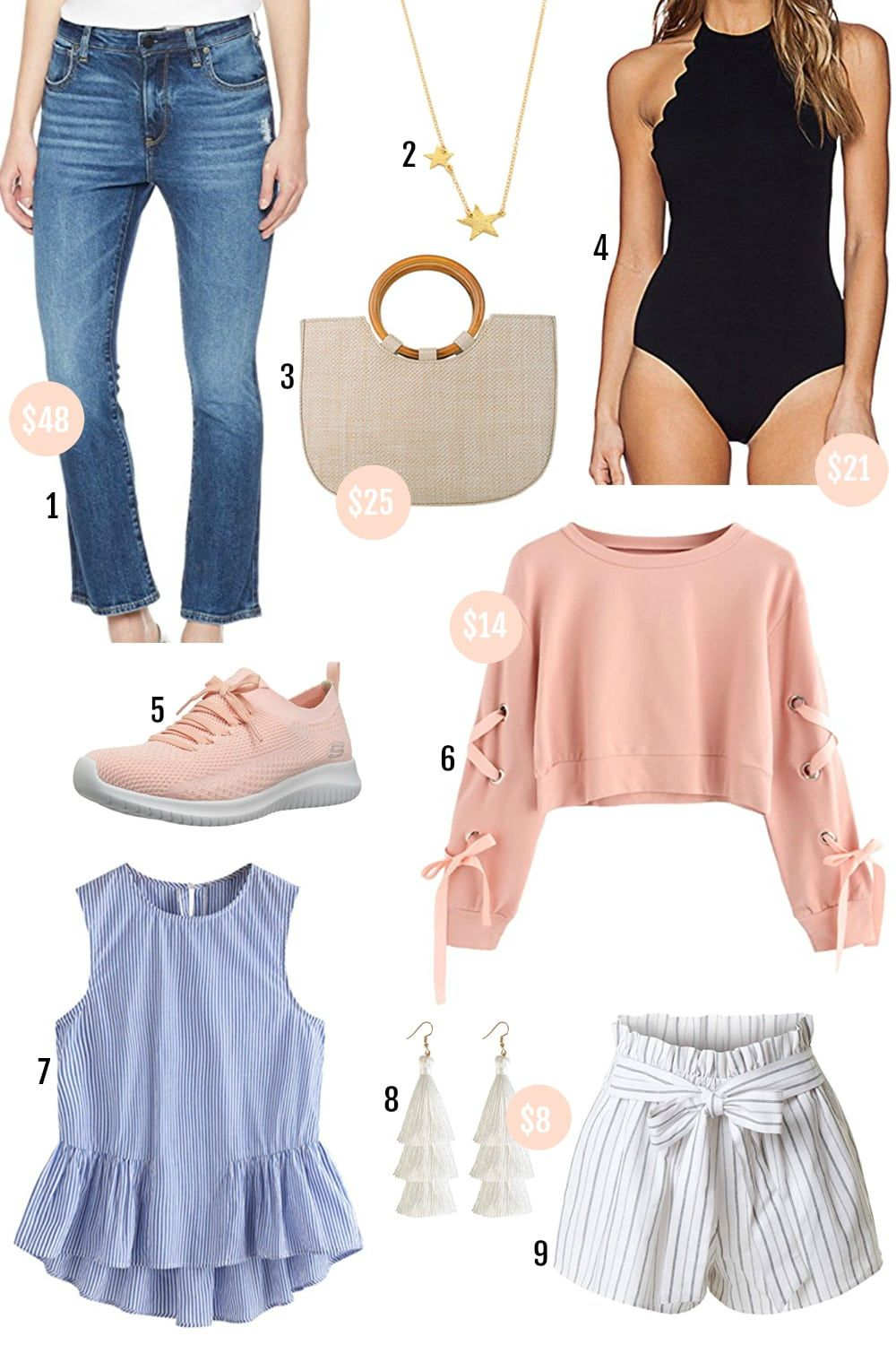 8feece05f897 Beauty blogger Mash Elle shares her roundup of affordable spring fashion  finds