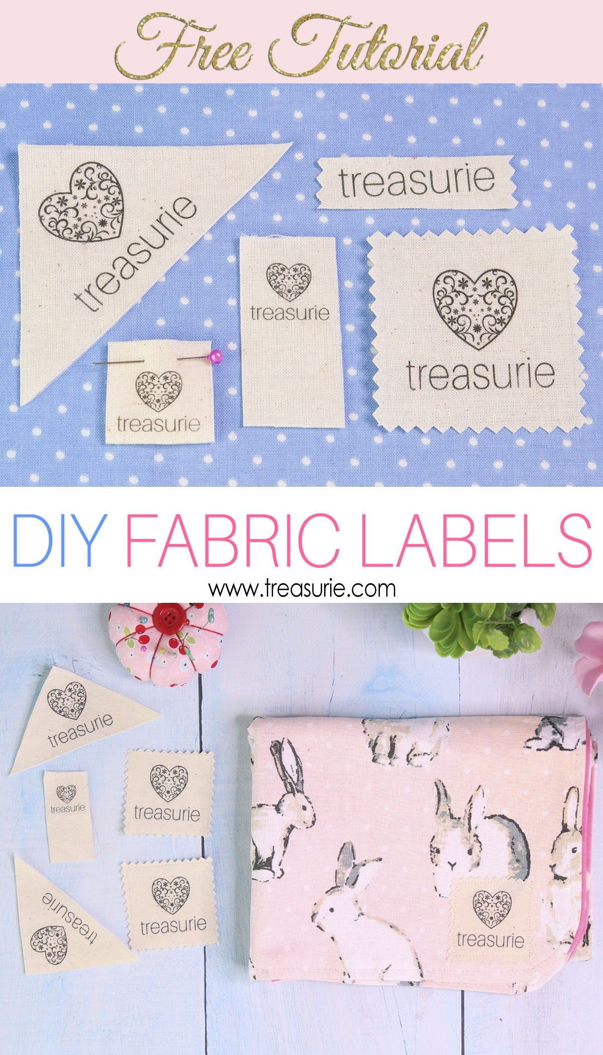 d9f6688a56dc Make your own Clothing Labels: DIY Fabric Labels Cheaply | Sewing ...