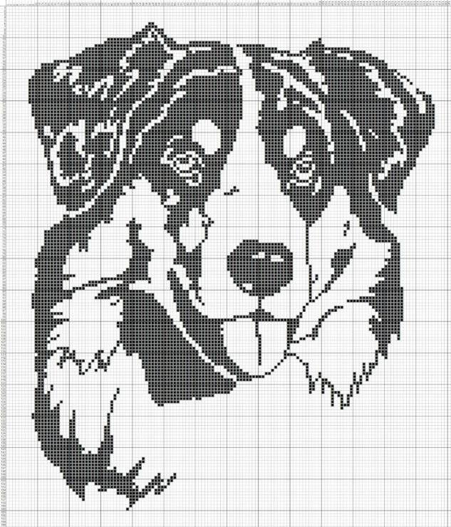 Great Dane~counted cross stitch pattern #1021~Vintage Dogs Animals Graph Chart