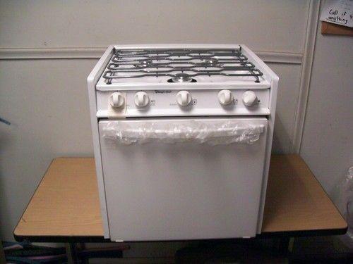 Rv Stove Oven >> New 22 Magic Chef Rv 3 Burner Lp Gas Stove Oven Range Off Grid