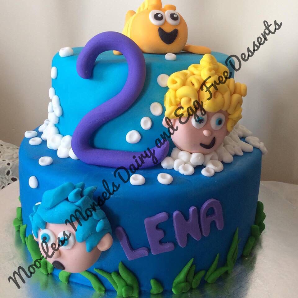 Moo Less Morsels Bubble Guppies Cake Moo Less Morsels Dairy And