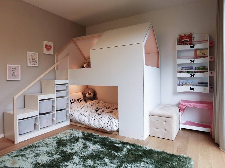 mommo design IKEA BEDS HACKS...CJ Steps/shelves to