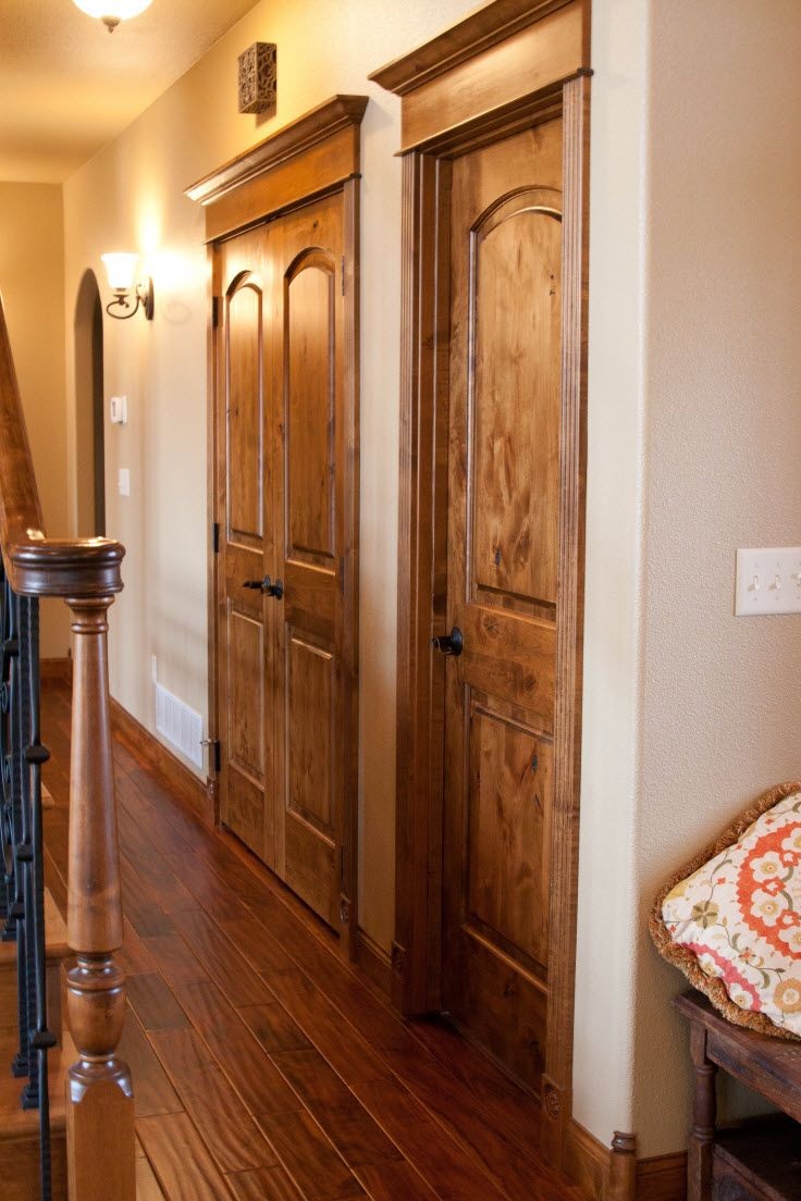 Door Toppers | Knotty Alder Door Toppers Create A Finished Look In A Home |  Bayer