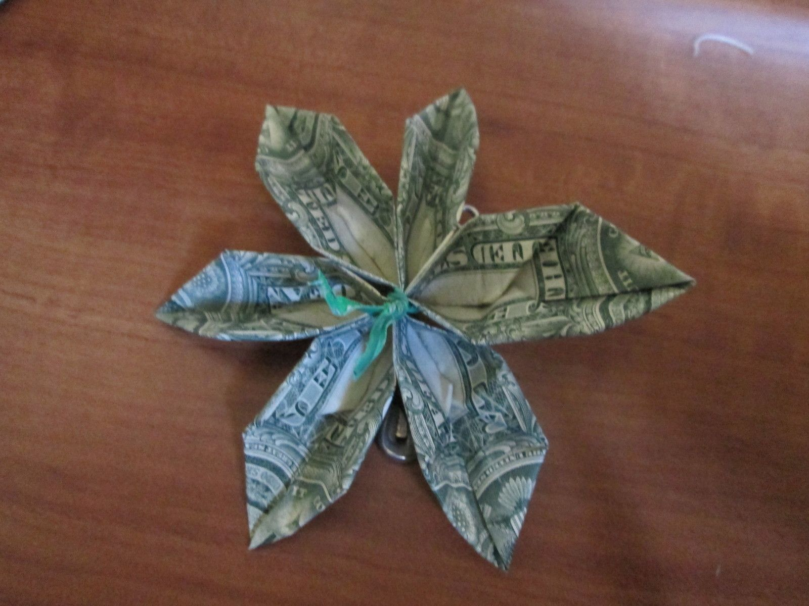 Origami Money Flower How To Gifts Pinterest Money Flowers