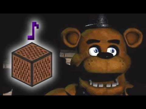 Five Nights At Freddy S Song Minecraft Note Block Remake Original By The Living Tombstone Youtube Five Nights At Freddy S Five Night Fnaf Freddy