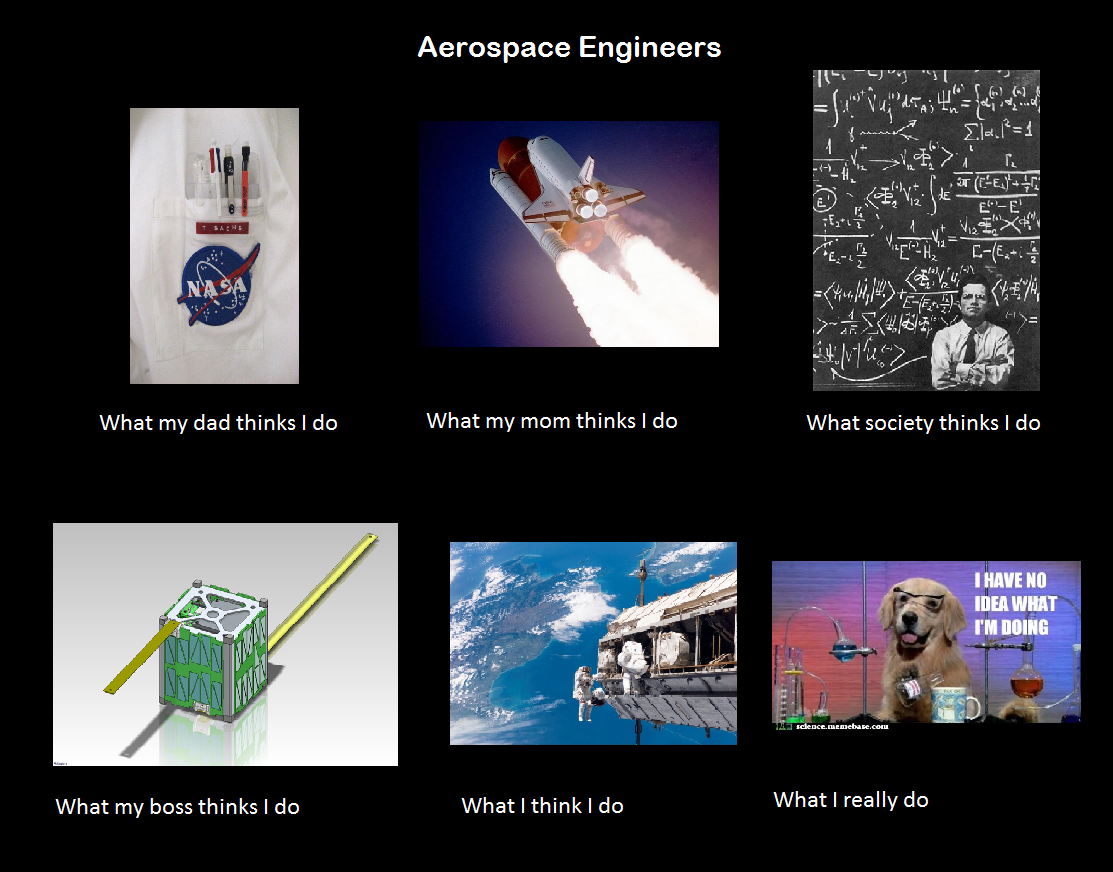Thought I'd give it a shot Aerospace engineering