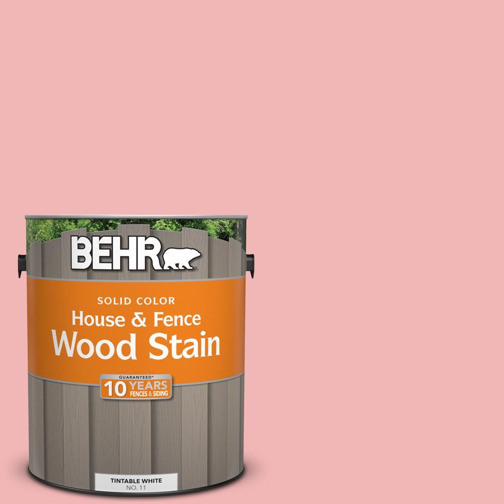 BEHR 1 gal  #P170-2 Old Flame Solid Color House and Fence