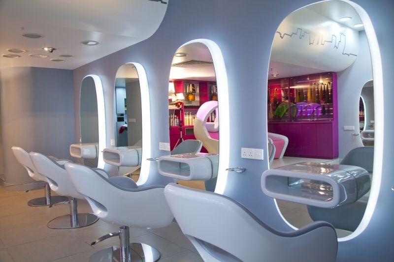 Arredamento parrucchieri e saloni acconciatura gamma for Arredamento saloni casa