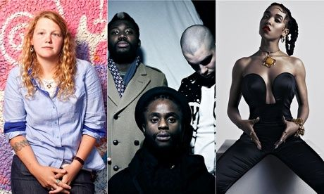 Mercury prize nominees; Kate Tempest, Young Fathers and FKA Twigs