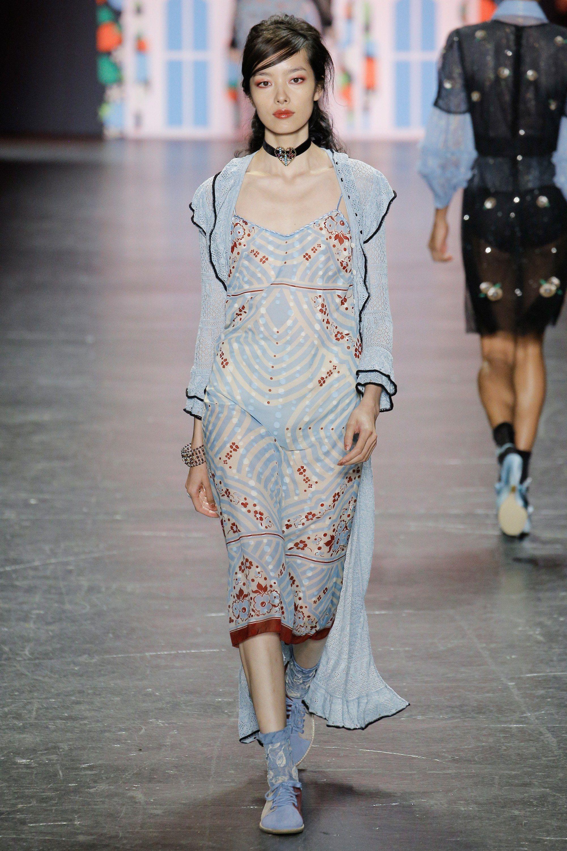Anna sui spring readytowear fashion show anna sui anna and