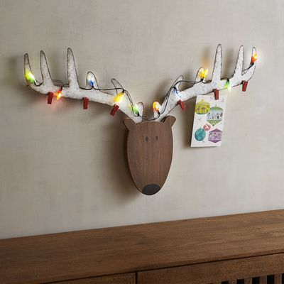 Pin By Regis On Projects Etc Christmas Card Display Reindeer Decorations Wooden Reindeer