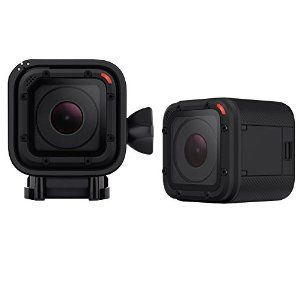 Gopro Hero4 Session The Size Of An Ice Cube It Can Go 33 Ft Under Water With No Extra Housing Gopro Hero Session Gopro Cameras And Accessories