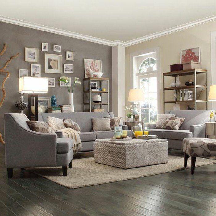 Déco salon gris - 88 super idées pleines de charme | Best Salons ...