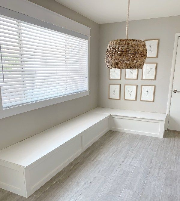 How to Build a Banquette Dining Bench - Lemon and Bloom