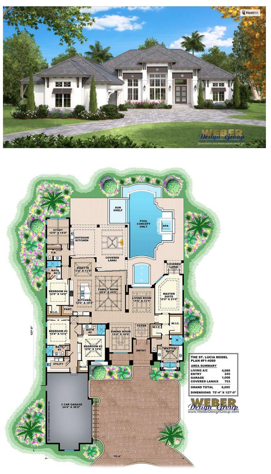 Beach House Plan Coastal West Indies Style Home Floor Plan – Coastal Style Home Floor Plans