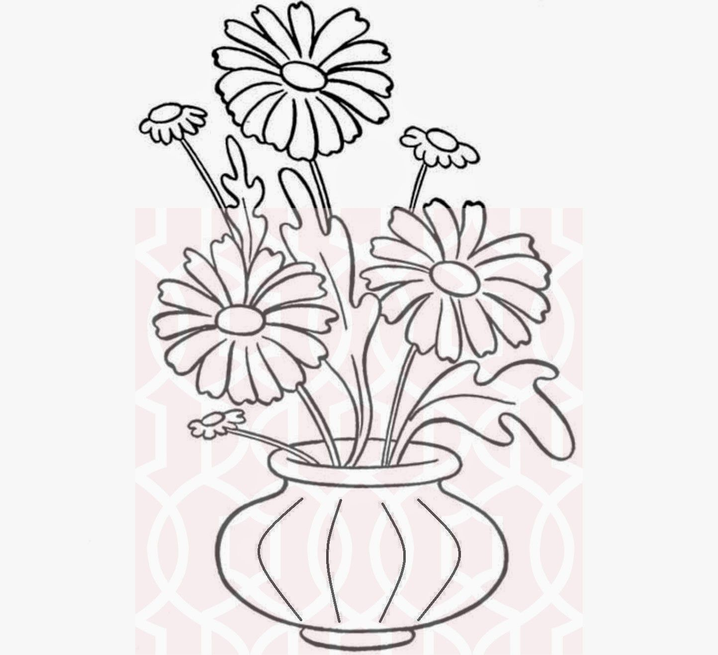 12 Uplifting Antique Vases Pink Roses Ideas Flower Drawing Cute Flower Drawing Pretty Flower Drawing