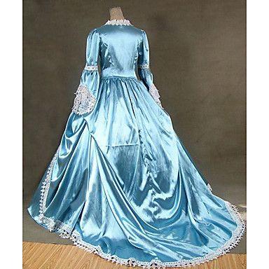 Klassisch-Fit Damen Steampunk® Colonial Marie Antoinette Masquerade ...