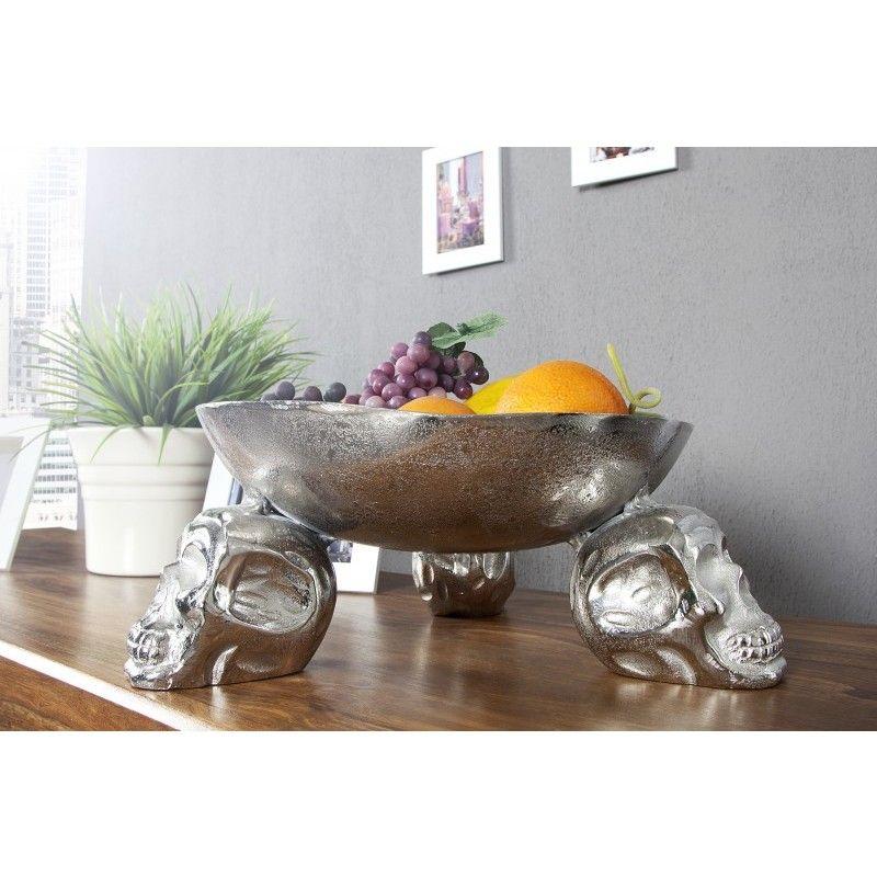 Moderne decoratie fruitschaal zilver 35cm 22917 vazen en schalen pinterest - Moderne entree decoratie ...