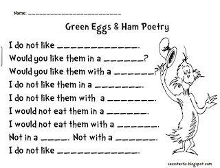 Seusstastic Classroom Inspirations Green Eggs And Ham