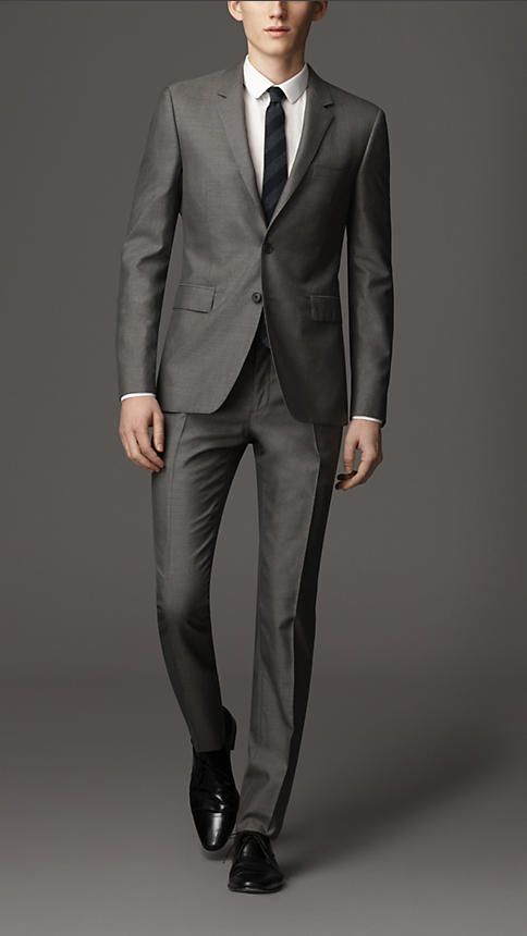 Suits & Tuxedos for Men | Burberry | Dark, Wool and Jackets
