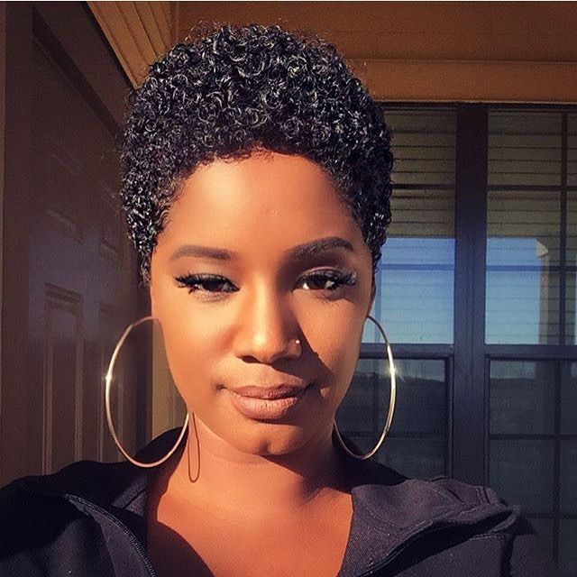 We love this one too brileelovely naturalhairdoescare 2018 short hairstyle ideas for black women enter in 2018 with a fierce new hairstyle made for girl who craves a shorter mane winobraniefo