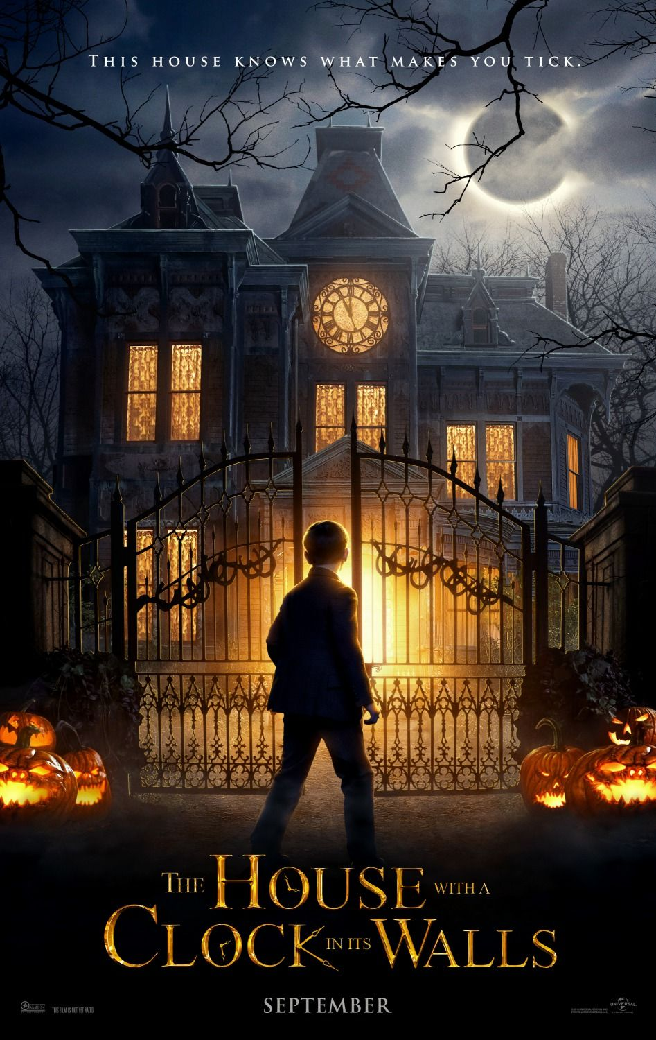 The House With A Clock In Its Walls Movie Poster Https Teaser