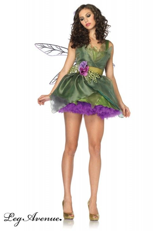 Leg Avenue Damen Kostum Fee Woodland Fairy Karneval Pinterest
