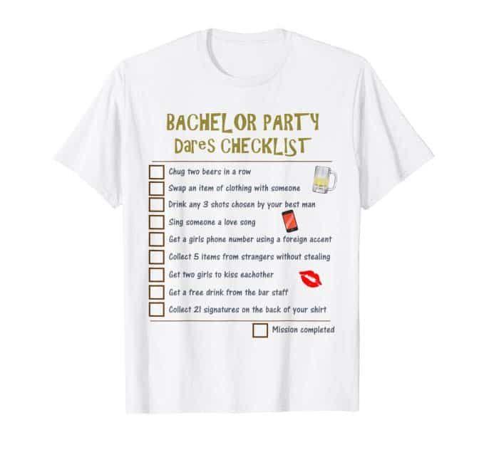 Bachelor Party T-Shirt Challenge! Create a custom t-shirt