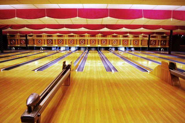 Arsenal Lanes Lawrenceville Bowling Urban Photography